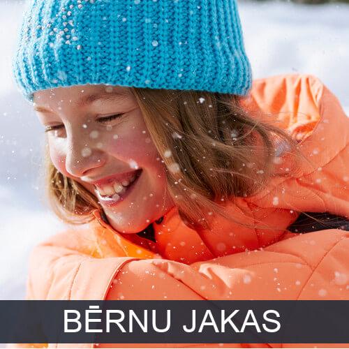 Bērnu ziemas jakas