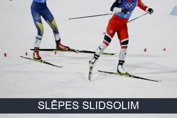 Distanču slēpes slidsolim