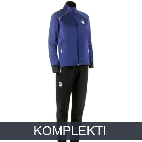 Distanču slēpošanas apģērba komplekti