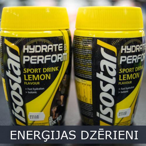 Sporta Enerģijas dzērieni