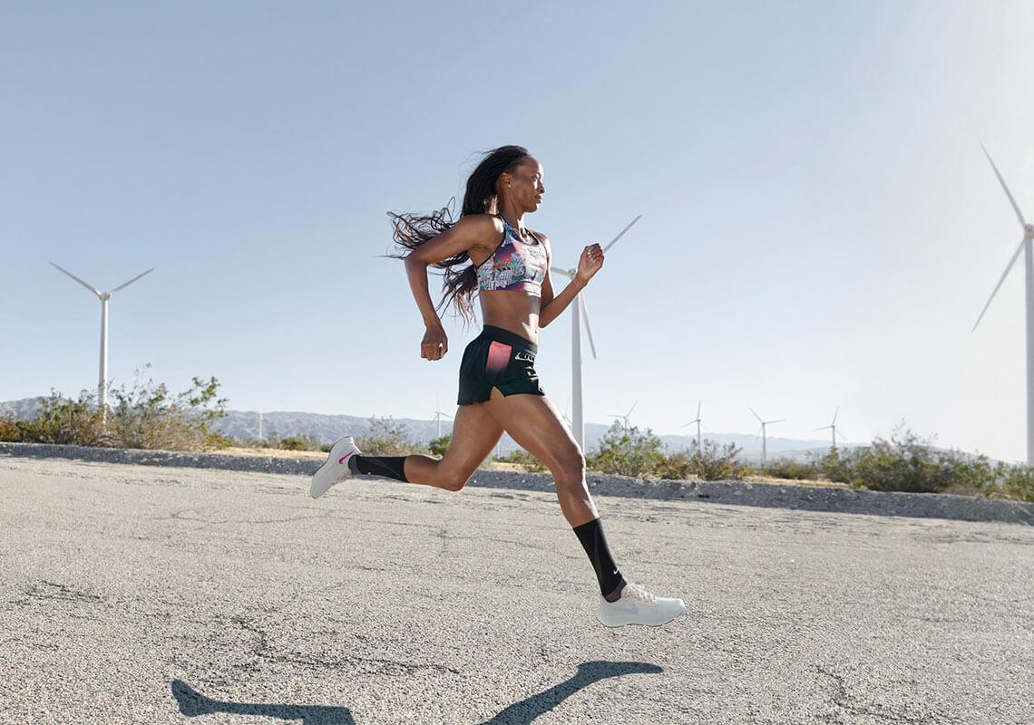 Jo ātrāk tu skrien, jo vairāk tu lido