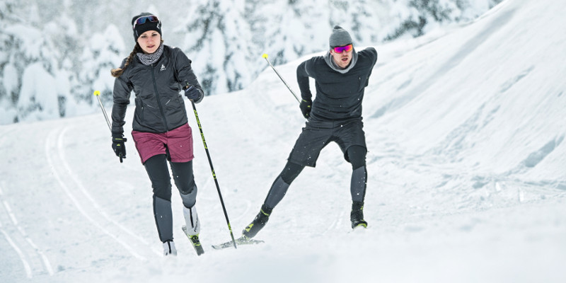 Universālas combi slēpes