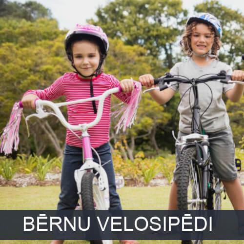 Uz bērnu velosipēdiem