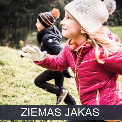 Uz bērnu ziemas jaku kategoriju