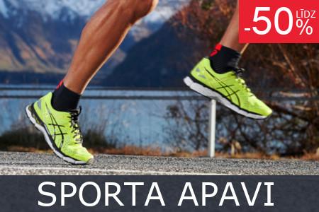 Izpārdošana sporta apaviem