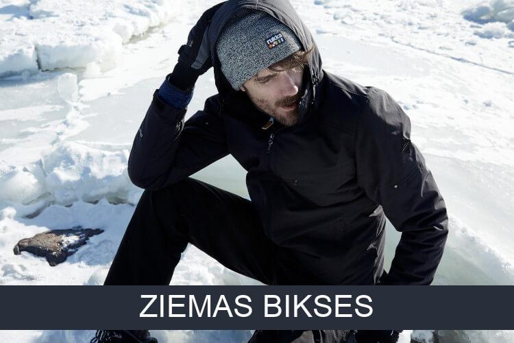 Uz vīriešu ziemas bikses