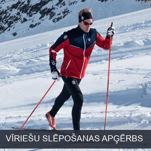 Vīriešu slēpošanas apģērbs