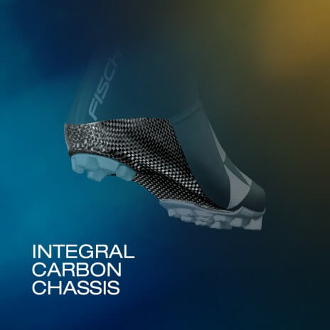 Integral carbon chassis