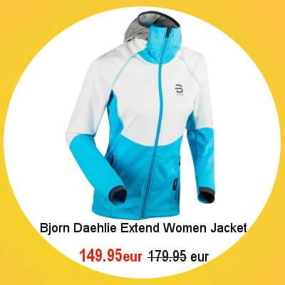 Bjorn Daehlie Extend Jacket womens
