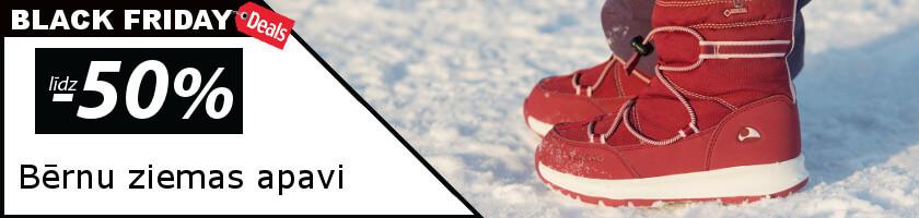 Bērnu ziemas apaviem līdz -50%