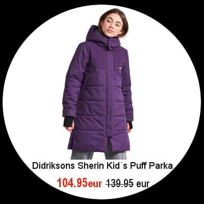 Didriksons kids jackets