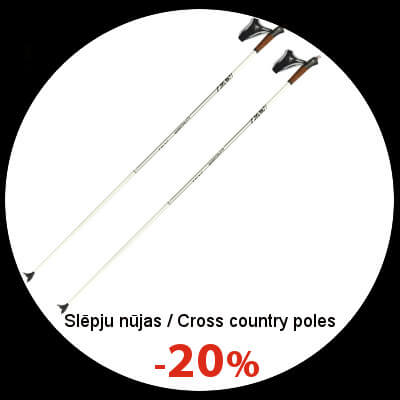 Cross country ski poles