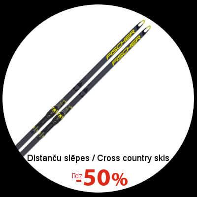 Distanču slēpēm līdz -50%