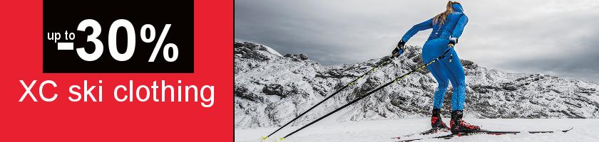 Cross country ski wear