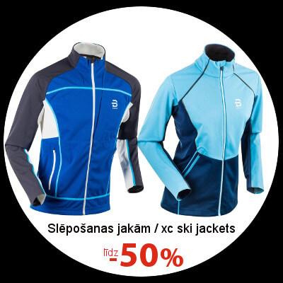 Distanču slēpošanas jakām līdz -50%