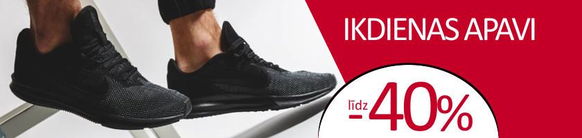 Ikdienas apavu izpārdošana