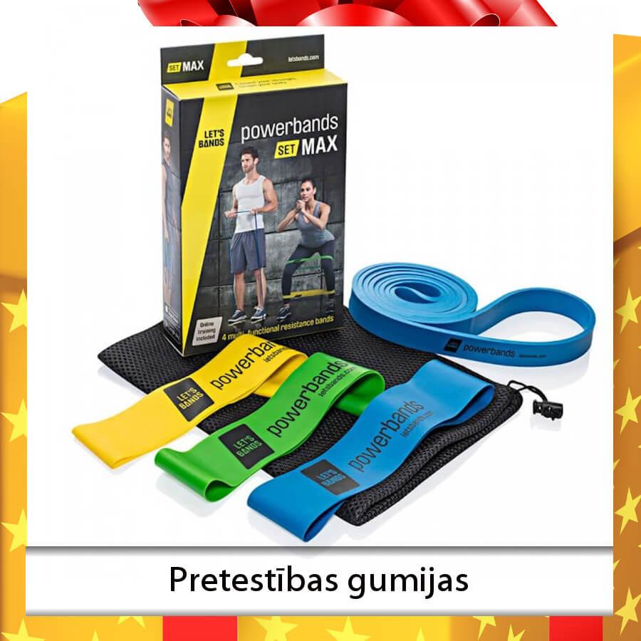 Ziemassvētku dāvanas - fitnesa inventārs