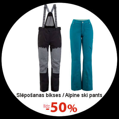 Alpine ski pants