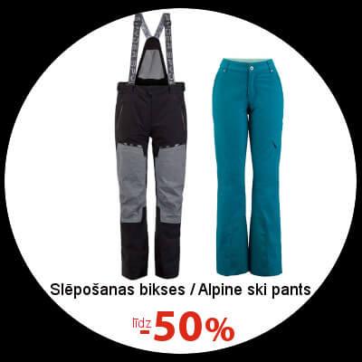 Alpine ski pants