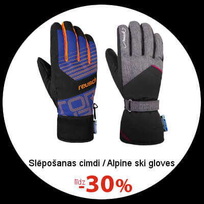Alpine ski gloves
