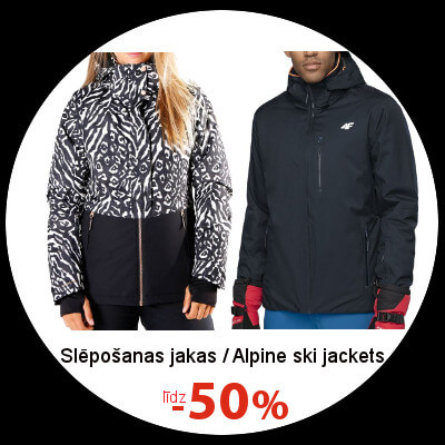 Alpine ski jackets