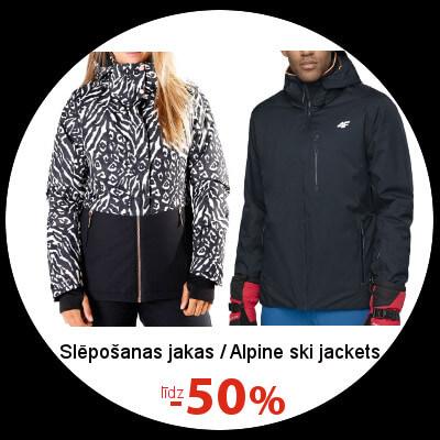 Kalnu slēpošanas jakām līdz -50%