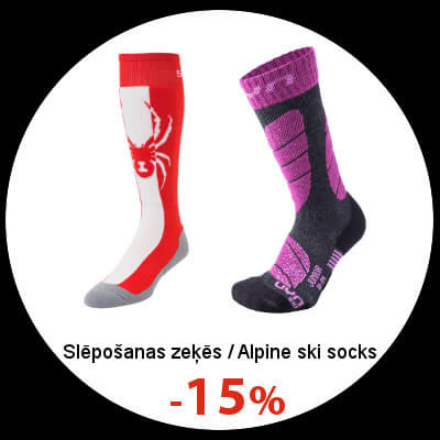 Alpine ski socks