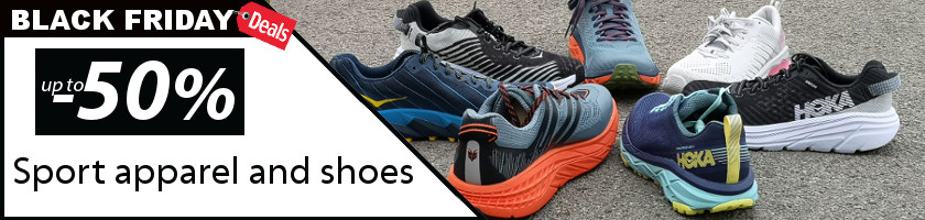 Sports shoes and sportswear