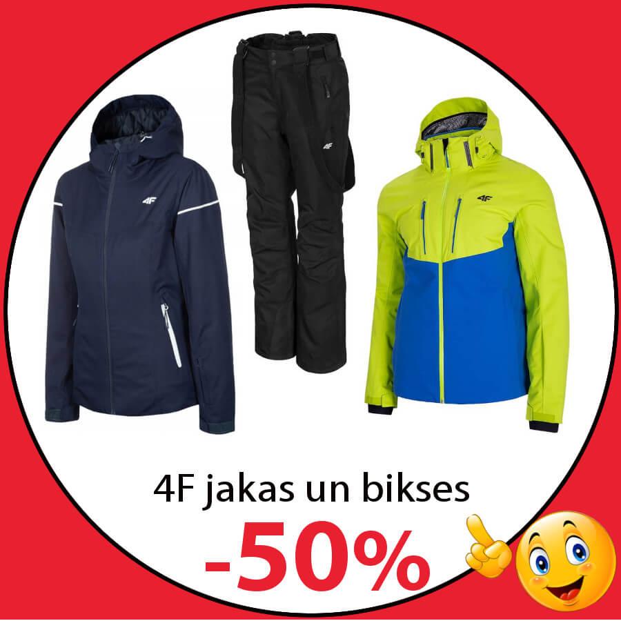4F kalnu slēpošanas apģērbs