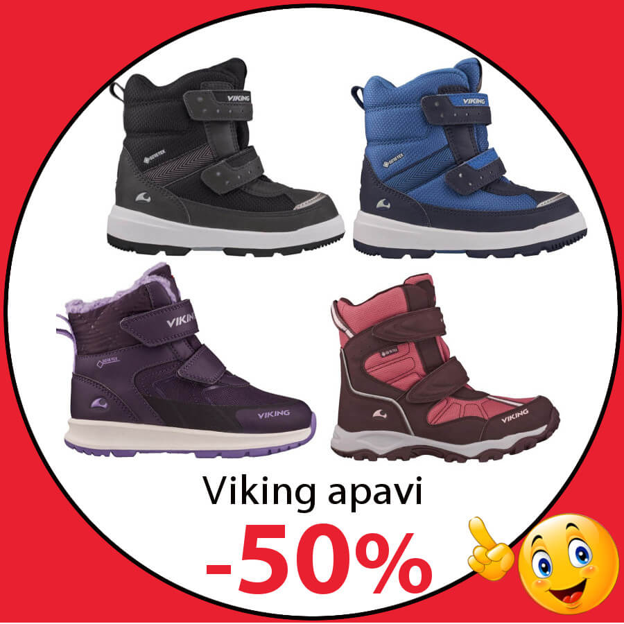 Viking bērnu ziemas zābaki