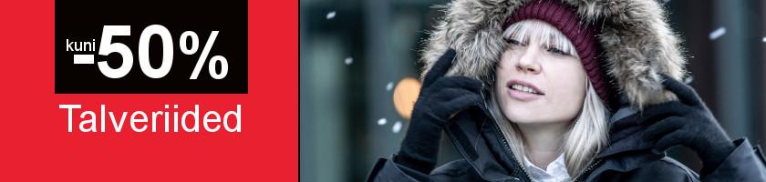 Ziemas apģērbam līdz -50%