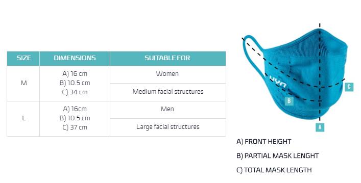 UYN Size Chart